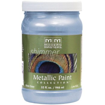 Metallic Paint, Shimmering Sky  ~  32 oz