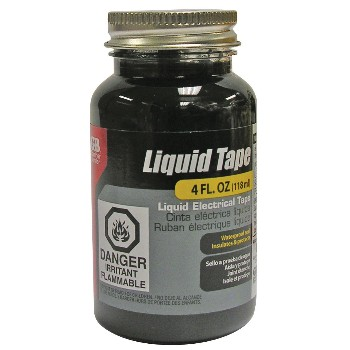 Liquid Electrical Tape,  Black - 4 oz