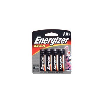 Energizer E91MP-8 Aa 8pk Alk Battery