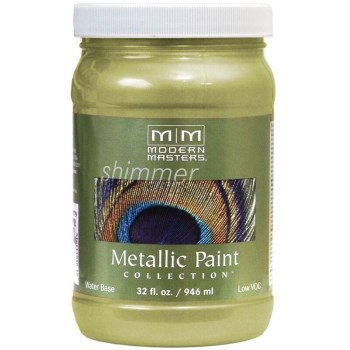 Metallic Paint, Sage 32 Ounce