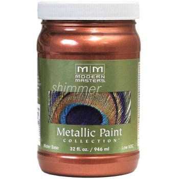 Modern Masters ME195-32 Metallic Paint, Copper 32 Ounce