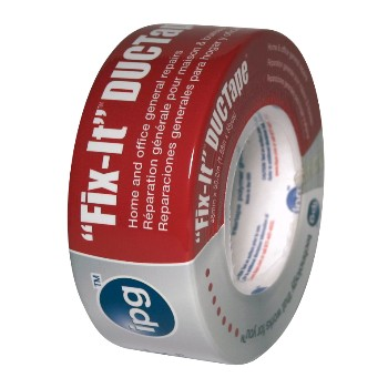 "Fix-It™  Duct Tape, Silver  ~ 1.88"" x 55 Yds x 7 mil"
