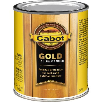 Gold Ultimate Finish Stain, Fireside Cherry ~ Quart
