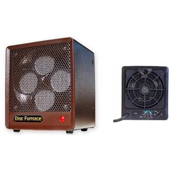 World Mktg BDISC6 Comfort Glow Ceramic Disc Heater ~ 5,200 BTUs