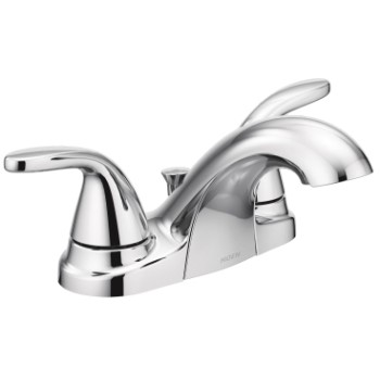 Adler Two Handle Bathroom Faucet ~ Chrome Plated