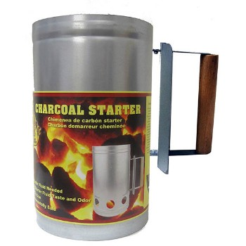 21st Century B45A BBQ Steel Charcoal Chimney Starter