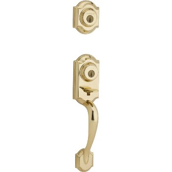 Montara Smartkey Handleset - LIP ~ Polished Brass