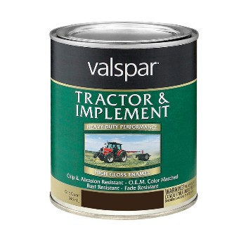 Tractor& Implement Paint, Black ~ Quart