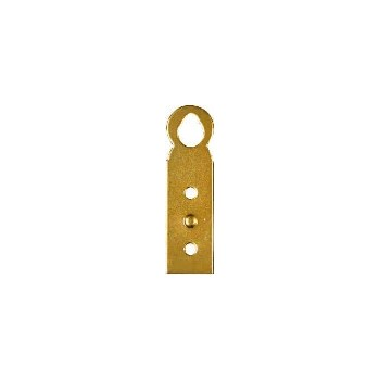 Brass Hanger Plate, Visual Pack 1873 inches