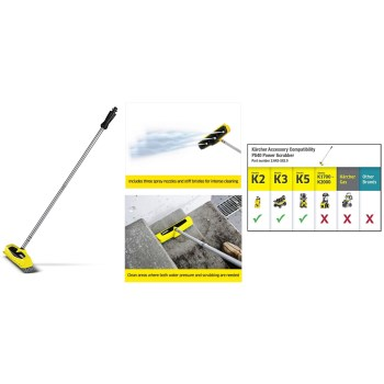 Karcher  2.642-582.0 PowerScrubber Brush Extension for Karcher Electric Pressure Washers