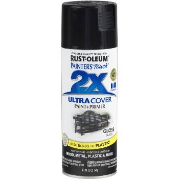 Rust-Oleum  Ultra Cover Spray ~ Gloss Black