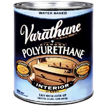 Rust-Oleum  Varathane Interior Waterborne Wood Finish Polyurethane, Semi-Gloss 1/2 Pint
