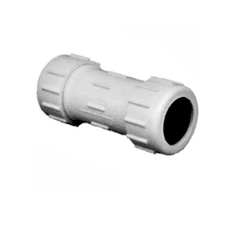 PVC Compression Coupling ~ 2""