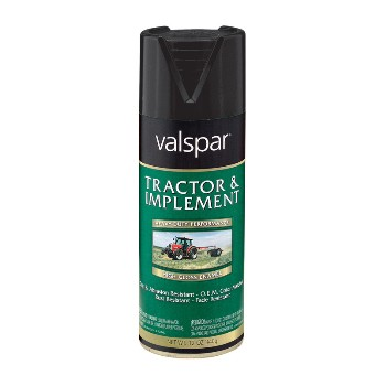 Tractor Paint - Low Gloss Blk~12oz Spray
