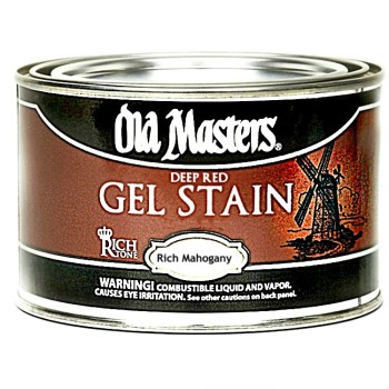 Gel Stain - Deep Red/Rich Mahogany,  Pint
