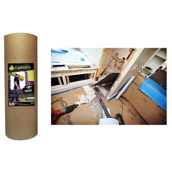 "FloorShell Protection Roll  ~ 38"" X 50 Ft."