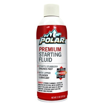 Polar Premium Starting Fluid for Gas & Diesel Engines ~ 11 oz