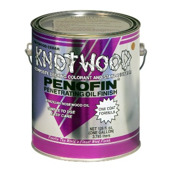 Knotwood Penetrating Oil Finish,  Mahogany Tone ~ Gallon
