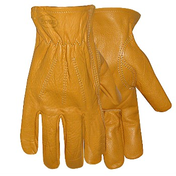 Leather Gloves - Medium