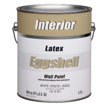 Dutchboy Z47W00801-16 Interior Latex Paint, Eggshell White/Pastel Base ~ 1 Gallon