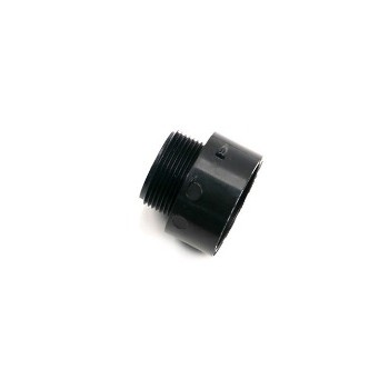 Male Adapter, ABS / DWV 1 1/2 x 1 1/4 inch