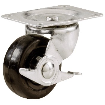 Shepherd 9512 Swivel Caster w/Brake ~ 4""