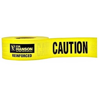"Caution Barrier Tape ~ 3"" x 500 Ft x 5 Mil"