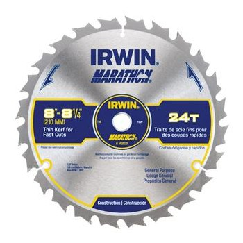 "Marathon Table Saw Blade ~ 8 - 1/4"" 24T"