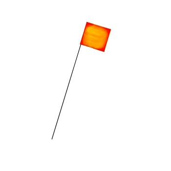 Intertape 900-OR Marking Flag, Orange