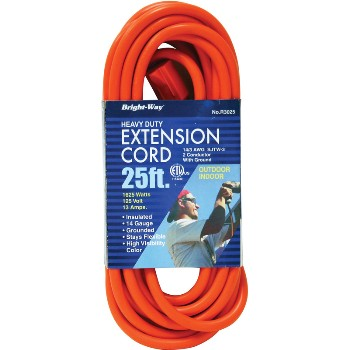 H Berger Co 150090 R3025 14/3 25ft. Or Outdoor Cord