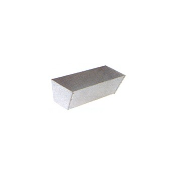 Galvanized Mud Pan, 12 inches.