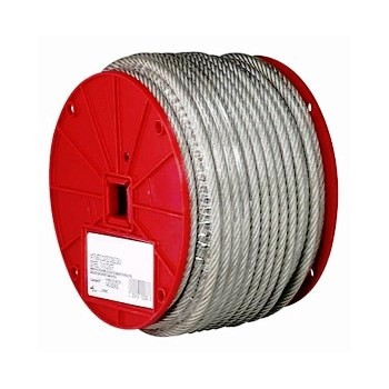 "Vinyl Coated Cable ~  3/32"" x 250 Ft Roll"