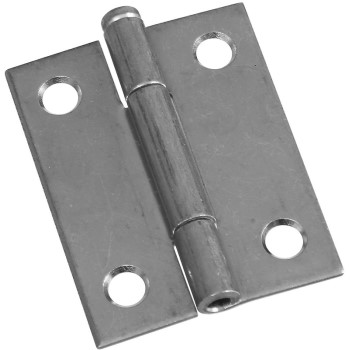 "Removable Pin Hinges, 2""  x 1.56"" Zinc ~ Pack of 2"