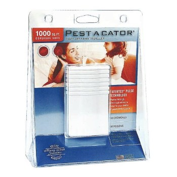Global Instruments  1100 Pest-A-Cator Electronic Rodent Repellent Control  ~  Approx 1,000 SF