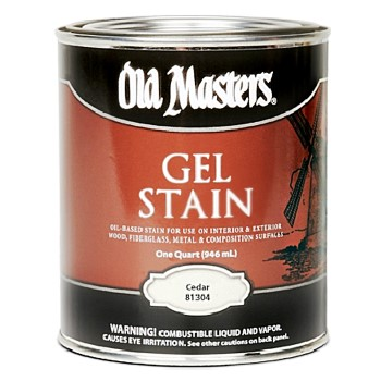 Gel Stain, Cedar ~ Quart