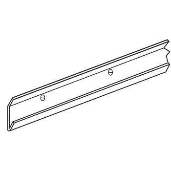 Freedom Rail Storage System Rail/Nickel ~ 30""
