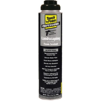 CP/Seal Krete 4006002450 Landscaping Foam Sealant, 20 oz ~ Black