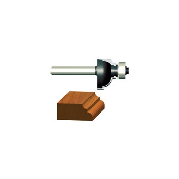 Cove and Fillet Router Bit - 3/8 inch radius