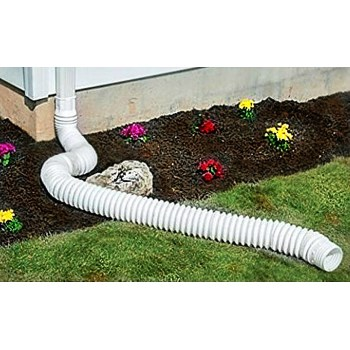 Downspout Flex Extension ~ White