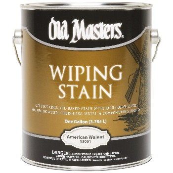 Wiping Wood Stain, American Walnut  ~ Gallon