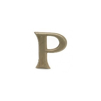 House Letter P,    Simulated Wood-Grain Letter ~ 7""