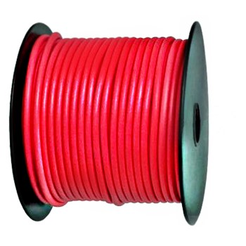 Primary Wire, Red ~  100' Roll  12 Gauge