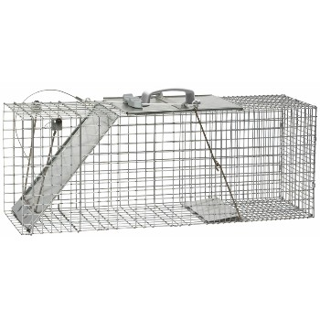 Woodstream 1085 Trap, Raccoon Sized 32.75 x 10.5 x 12.2 inch - 1 door