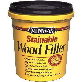 Stainable Wood Filler,  16 Oz