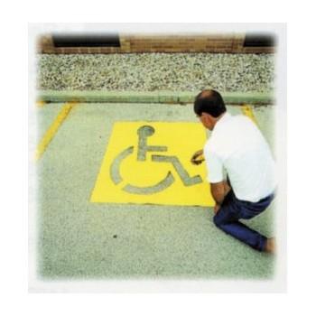 CH Hanson 12438 Stencil - Handicap Symbol