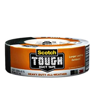 "3M 05113192040 Duct Tape, Heavy Duty All-Weather ~ 1.88"" X 45 Yds"