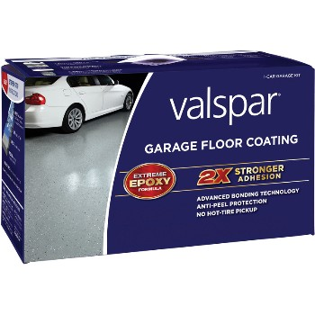Epoxy Garage Floor Coating Kit ~ Light Gray