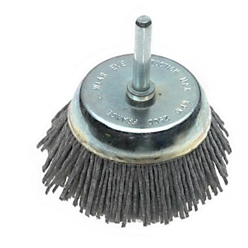 "Dico Prod  7200005 Cup Brush, Gray ~ 2 - 1/2"" 80 Grit 7200005"