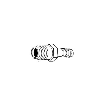 Male Adapter, 1/4 x 1/4 inch