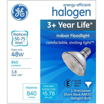 Floodlight,  Indoor Halogen PAR30 ~ 48W